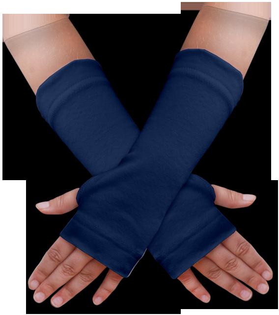 Návleky na ruce modré