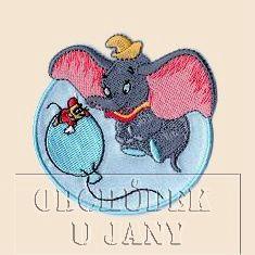 Nažehlovací aplikace Disney - Dumbo