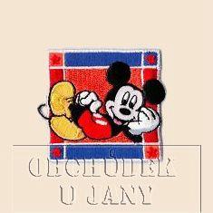 Nažehlovací aplikace Disney - Mickey ležící