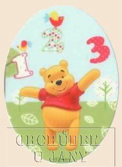 Nažehlovací záplata - Medvídek Pů 1