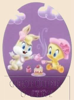 Nažehlovací záplata - Looney Tunes 3