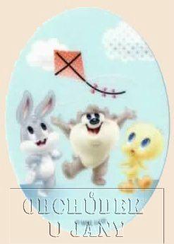 Nažehlovací záplata - Looney Tunes 4