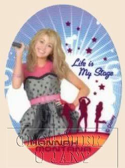 Nažehlovací záplata - Hannah Montana 1