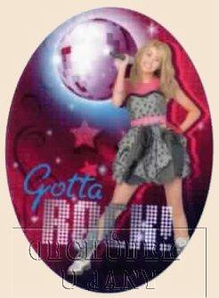 Nažehlovací záplata - Hannah Montana 4
