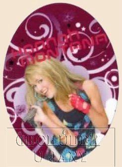 Nažehlovací záplata - Hannah Montana 8