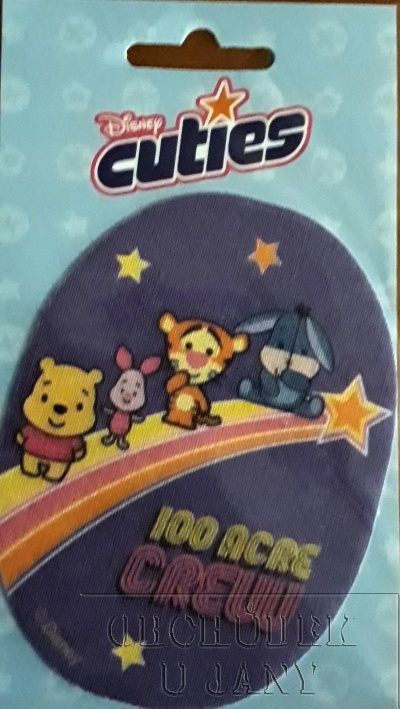 Nažehlovací záplata - Disney Cuties 8
