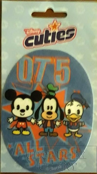 Nažehlovací záplata - Disney Cuties 5