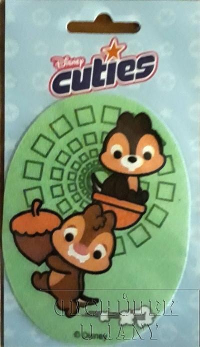 Nažehlovací záplata - Disney Cuties 4