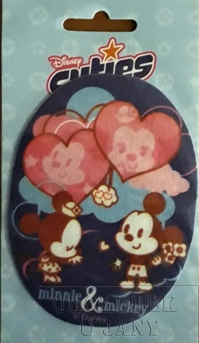 Nažehlovací záplata - Disney Cuties 2