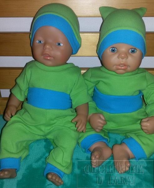 Oblečky na panenku Baby born
