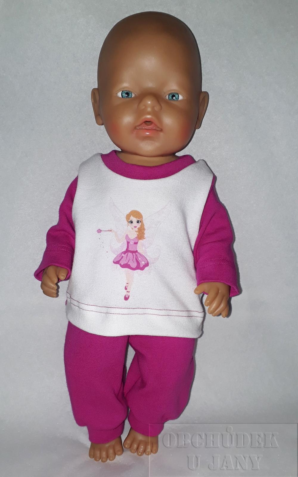 Souprava na panenku typu Baby born víla