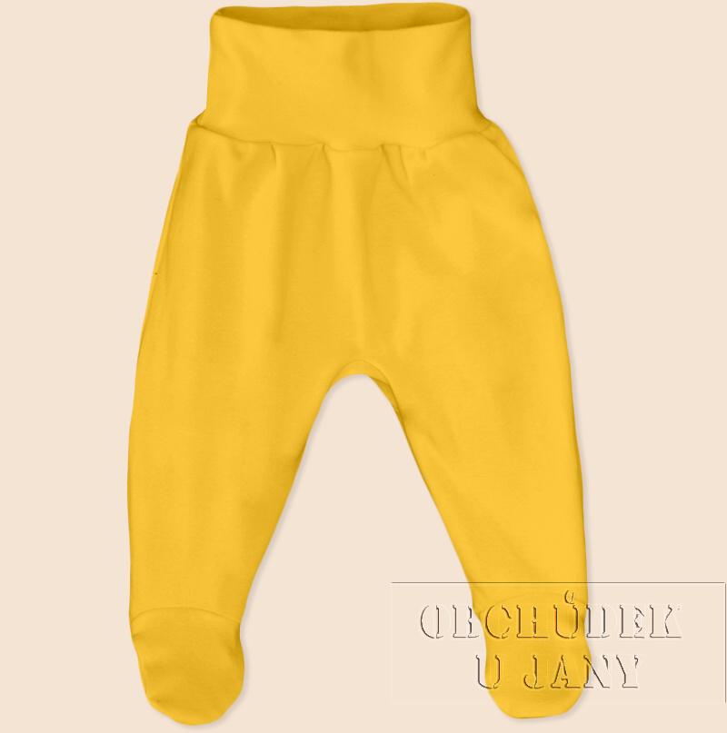 Kojenecké polodupačky žluté
