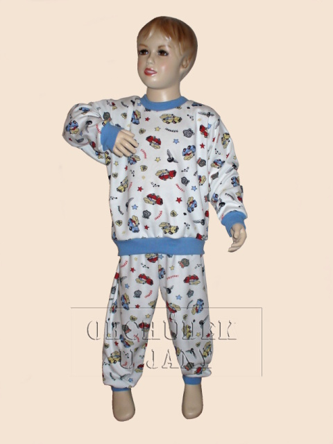 Dětské pyžamo - Pes v autě 2