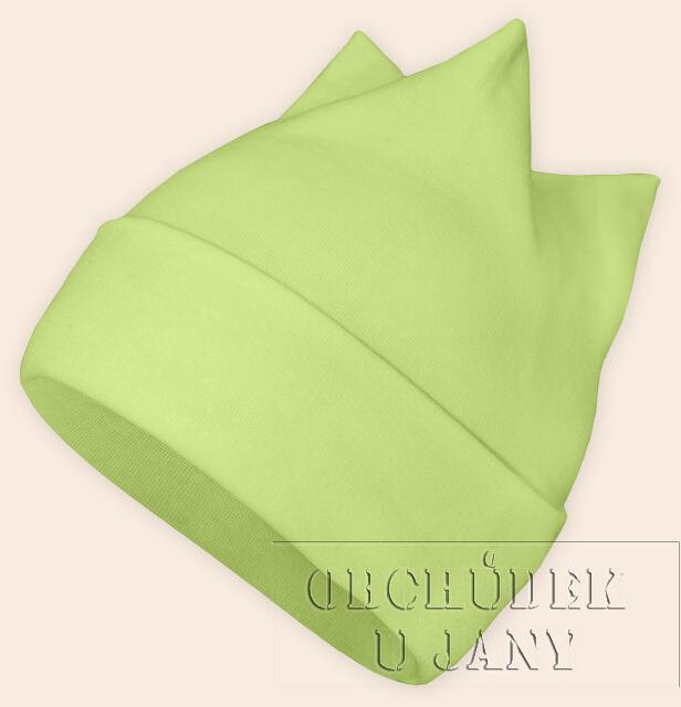 Čepice rohatka zelenkavá