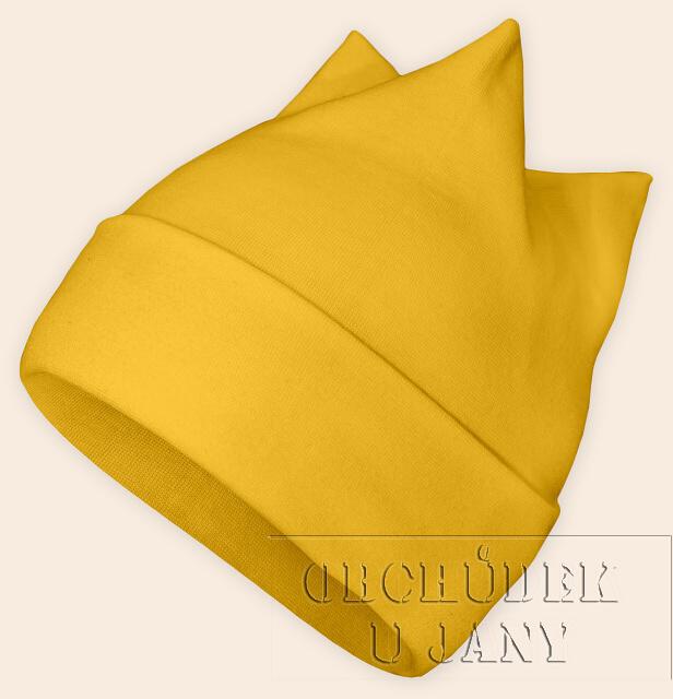 Čepice rohatka žlutá