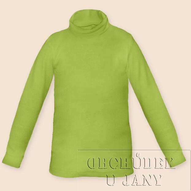 Dětský rolák zelený hráškový
