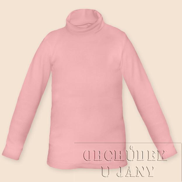Dětský rolák růžový světlý