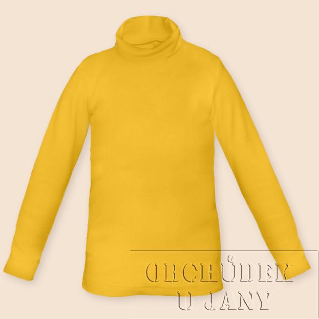 Dětský rolák žlutý