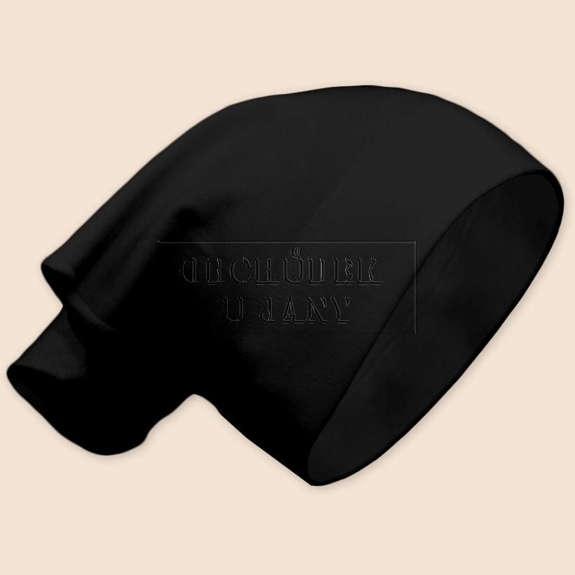 Dívčí šátek na hlavu černý