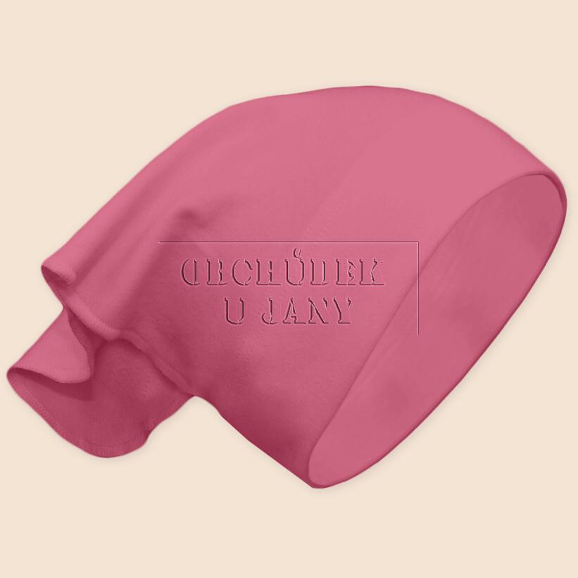 Dívčí šátek na hlavu růžový