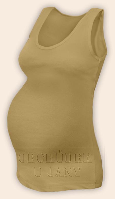 Těhotenské tílko béžové