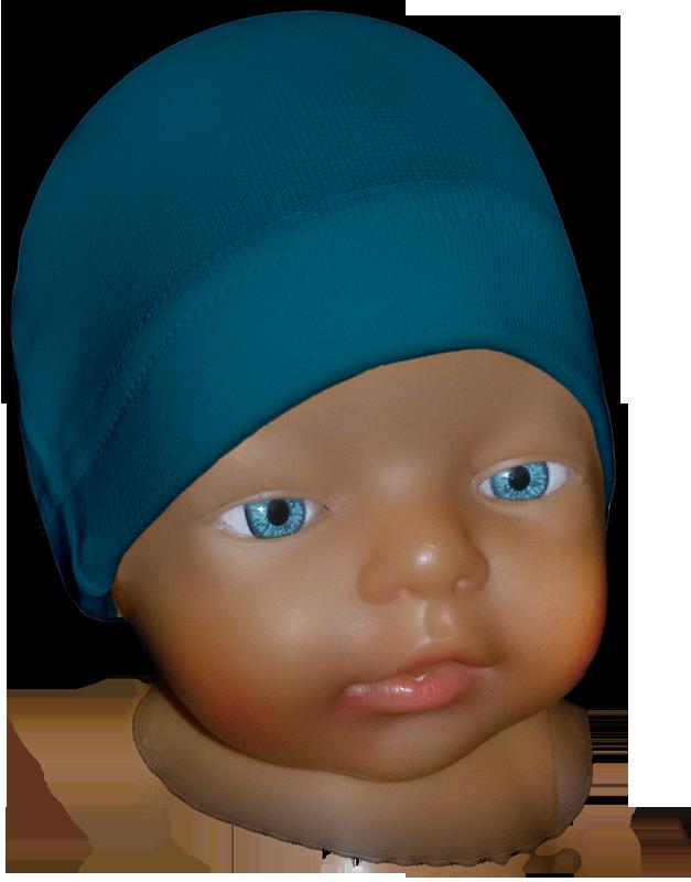 Čepice kojenecká petrolejová