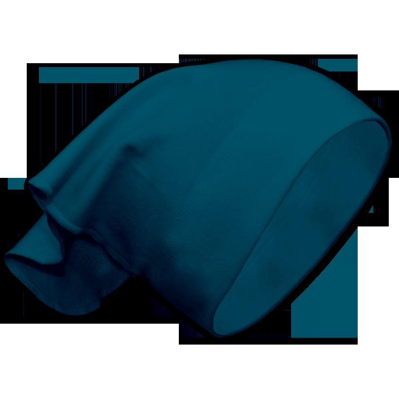 Dívčí šátek na hlavu petrolejový