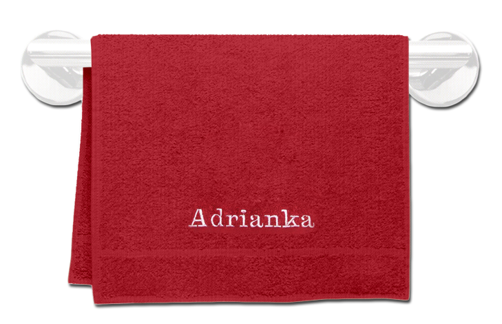 Froté ručník se jménem a obrázkem 30x50cm,400 g/m²