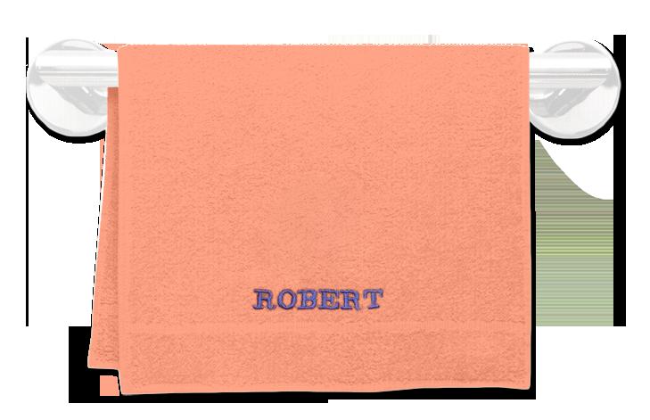 Froté ručník se jménem 30x50cm,400 g/m²