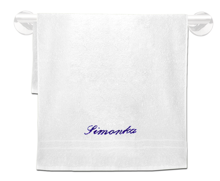 Froté ručník se jménem 50x100cm,400 g/m²